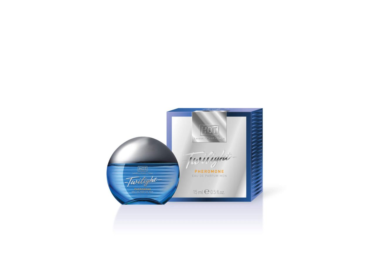 HOT Twilight - feromon parfüm férfiaknak (15ml) - illatos